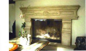 fireplaces custom paint